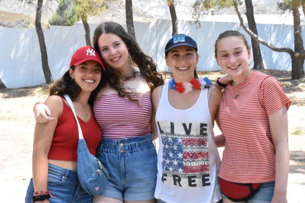 July 4th at camp