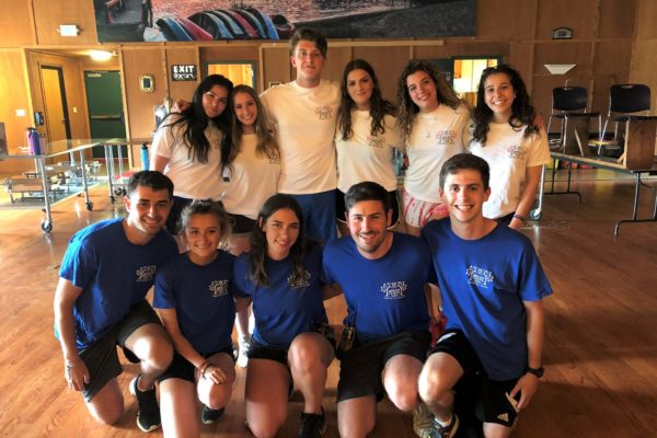 Jewish Camps USA staff at camp in the summer