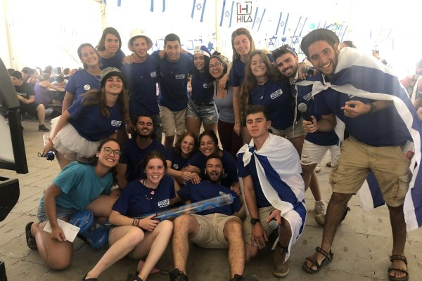 Israeli staff at the best Jewish summer camp